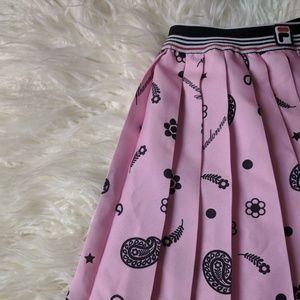 Fila x fleamadonna pleated tennis skirt